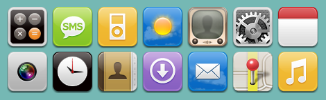 250+ Stunning iPhone Icons from DeviantArt for Free at Icon Lover Blog