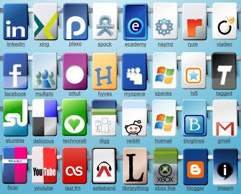 40 Free Social Icons