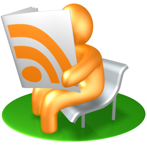 a really big RSS icon