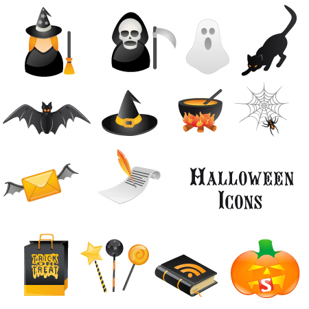 Smashing Pumpkins: A Free Halloween Vector Icon Set