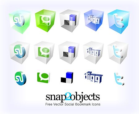 Social Icons by Mauricio Duque